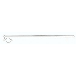 Threaded bracket for cistern screw...