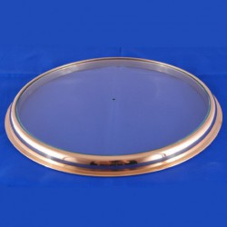 Clear glass spirit thermometer...