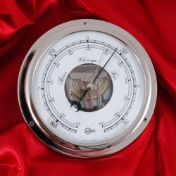 Continental style aneroid bezel