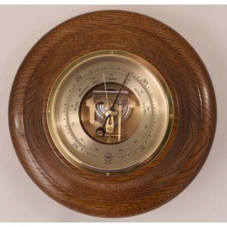 """Fine turned wood mirror frame to fit holes 3 3/8"""" to 4 1/4"""" in 1/8""""s"""